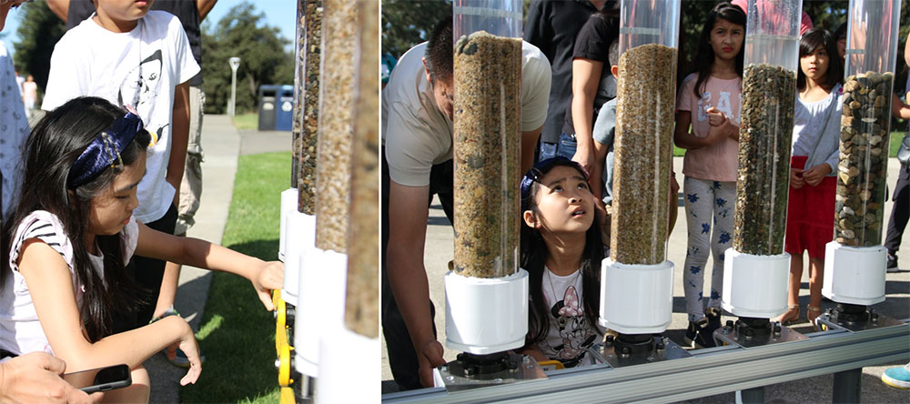 Science Exhibits deployed at the East Bay Discovery Day