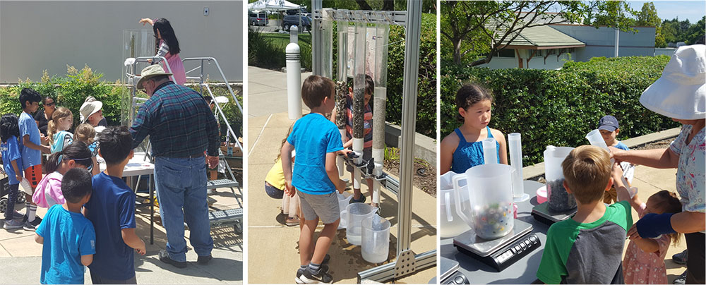 Wind Tunnel and Water Percolation Exhibits Excite and Educate at Summer Fest