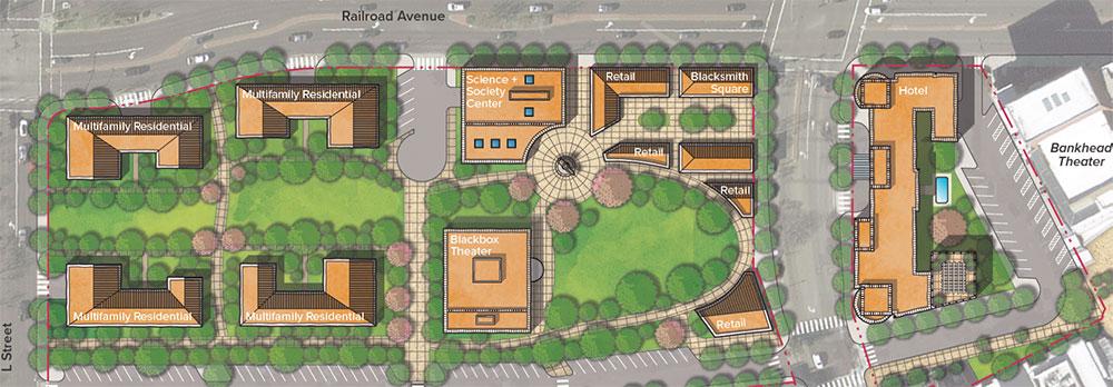 Livermore's Stockmen's Park Site Plans
