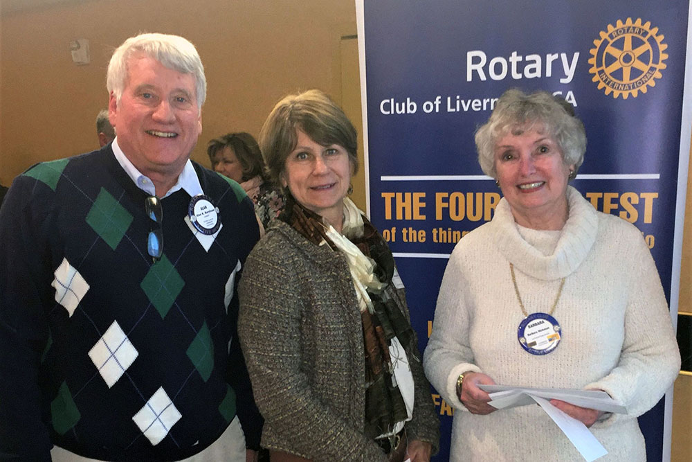 LSSC Receives Grant From Rotary Club of Livermore