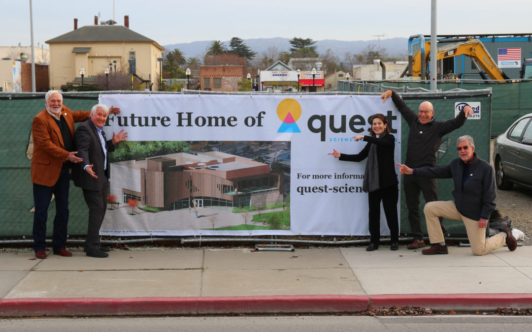 Quest 'Future Home' Sign Now Displayed in Downtown Livermore