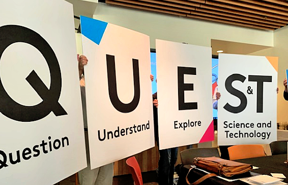 Introducing Quest: A new name and approach takes science learning to another level